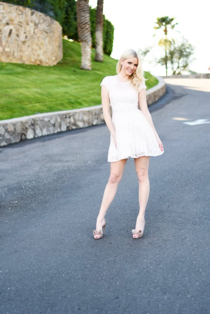 David's Bridal McKenna Wesley The Bubbly Blonde
